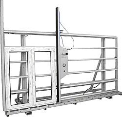PROPLEX: PSQ-240-1 - Стенд для остекления и контроля (без подъема)