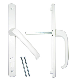 Компания ПРОПЛЕКС начинает продажу нового узкого нажимного гарнитура для легких дверей артикул 30912_W