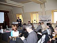 PROPLEX :: 6 октября 2004 в центральном офисе компании ПРОПЛЕКС состоялся семинар для производителей пластиковых окон