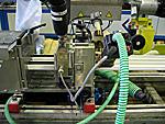 Нажмите для просмотра: Успешно осуществлен запуск нового 4-х лучевого инструмента штапика, что позволит компании вдвое увеличить количество производимой продукции. Кроме того, теперь применяется принципиально иная схема нанесения уплотнителя на основной профиль, т.н. пост-соэкструзия, что позволяет вывести качество выпускаемого профиля на новый уровень. Идя навстречу пожеланиям партнеров PROPLEX, инженеры компании усовершенствовали и геометрическую конфигурацию узла защелкивания штапика - клипс-систему