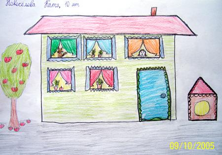 Лучший рисунок недели, Катя Новоселова, 10 лет, г. Москва