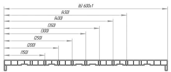 Пластиковый подоконник ПВХ PROPLEX от 150 до 600 мм