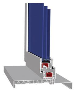 PROPLEX-Premium - система высококачественных пятикамерных ПВХ профилей для производства оконных конструкций